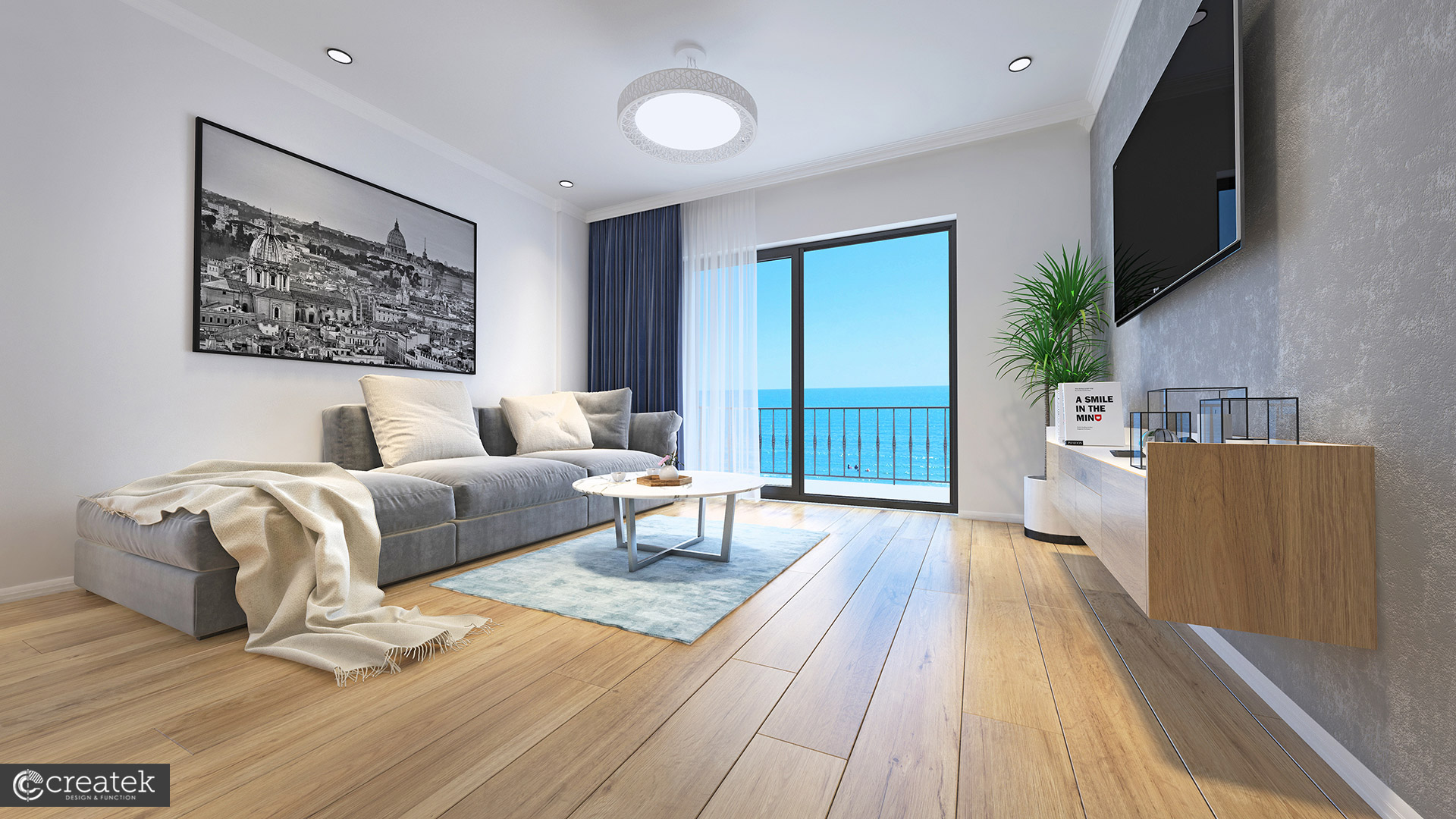 Apartamente Mamaia Nord | The Signature Promenada Apartament Roma Living