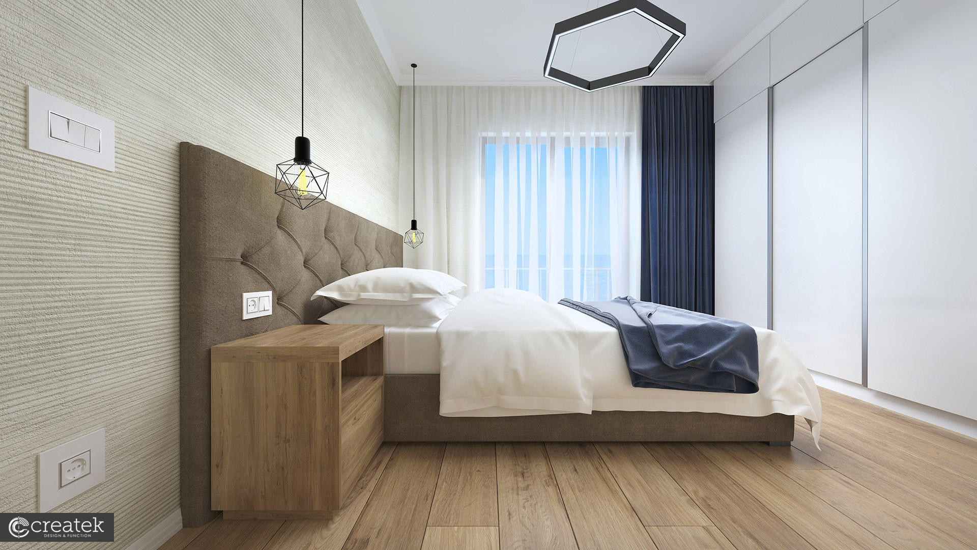 Apartamente Mamaia Nord | The Signature Promenada Apartament Roma Dormitor