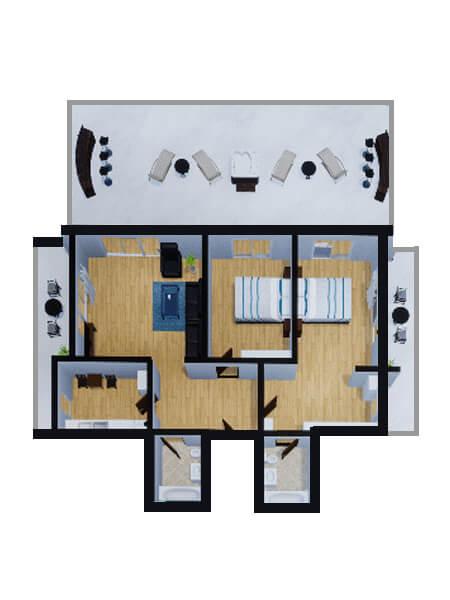 Apartamente Mamaia Nord | The Signature Promenada Apartament Atena