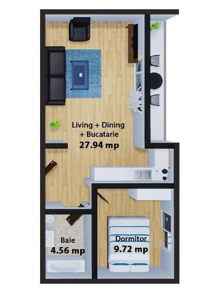 Apartamente Mamaia Nord | The Signature Promenada Apartament Londra